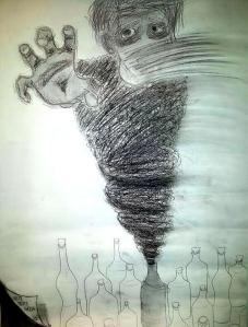 Rompé tu botella